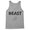 Beauty & Beast Matching Couples Workout Tanks