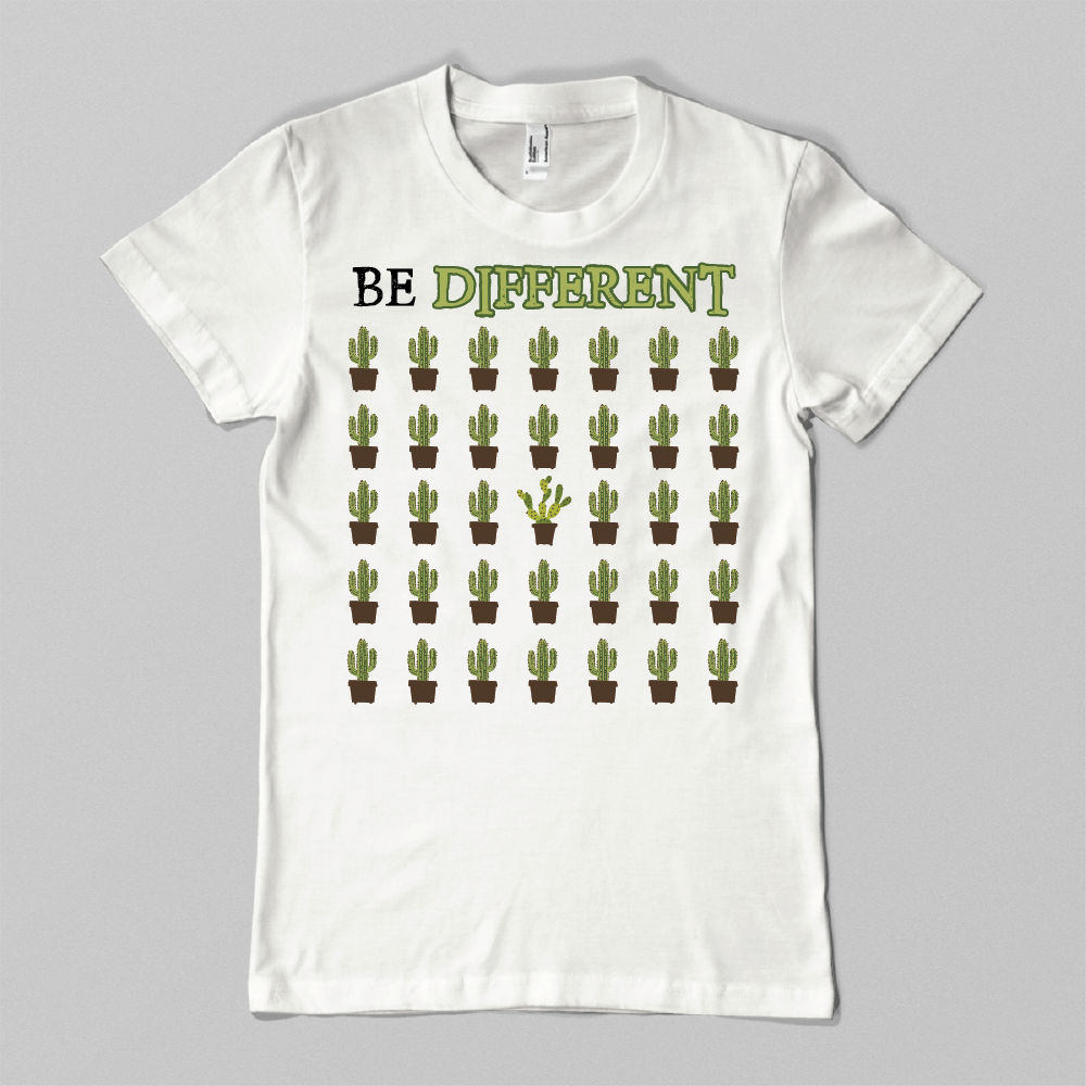 Be Different Cactus