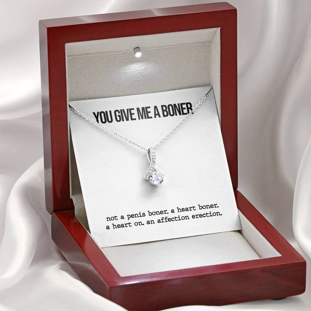 Funny Boner Alluring Beauty Necklace