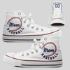 Baseball Mom Custom CONVERSE CHUCK TAYLOR ALL STAR HIGH TOP
