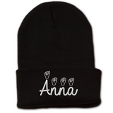 Personalized Sign Language Beanie