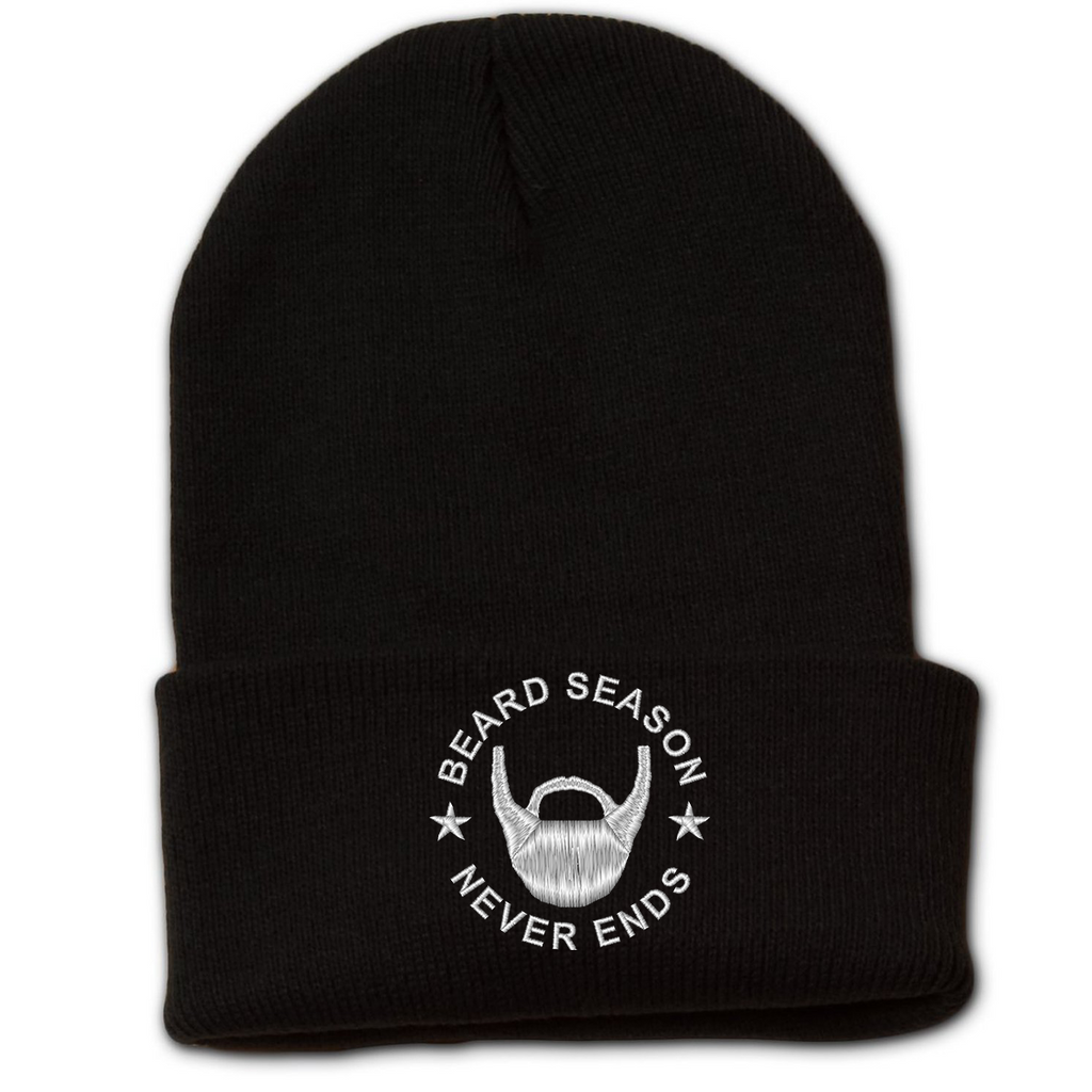 Beard Season Never Ends Beanie w/ Cuff