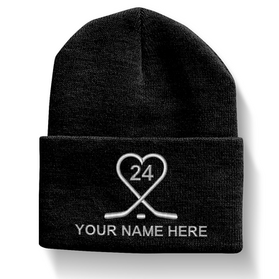 Hockey Heart Beanie
