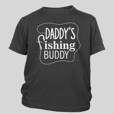 Daddy's Fishing Buddy Toddler Tees