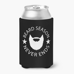 Beard Season Can Cooler