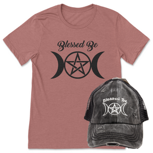 Blessed Be Shirt + Hat Bundle
