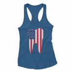 Dental Tooth American Flag