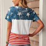 The US Stars and Stripes Inspired Top