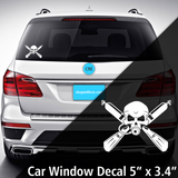 Scuba Diver Window Decal