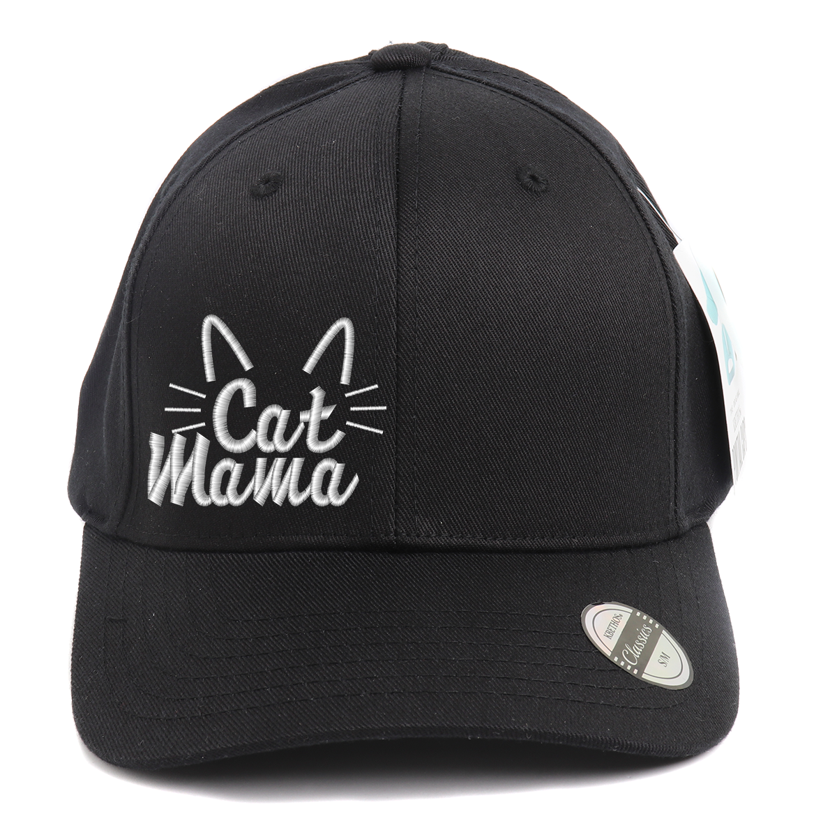 Cat Mama Ponytail Spandex Headband Hat
