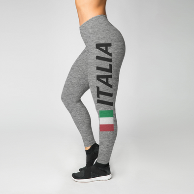 Heathered Italia Leggings