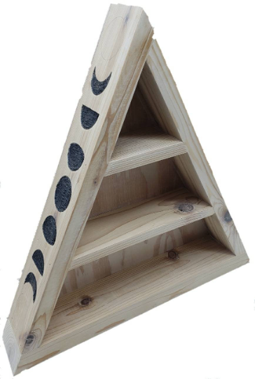 LOTM Moon Phases Triangle Shelf
