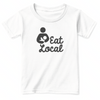 Eat Local Baby Shirt