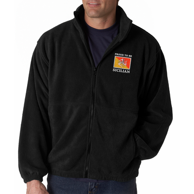 Proud To Be Sicilian Men's Fleece
