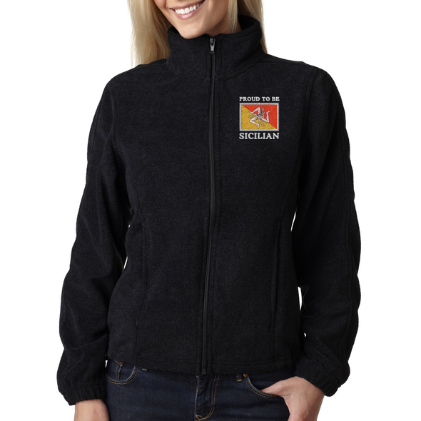Proud To Be Sicilian Women's Fleece