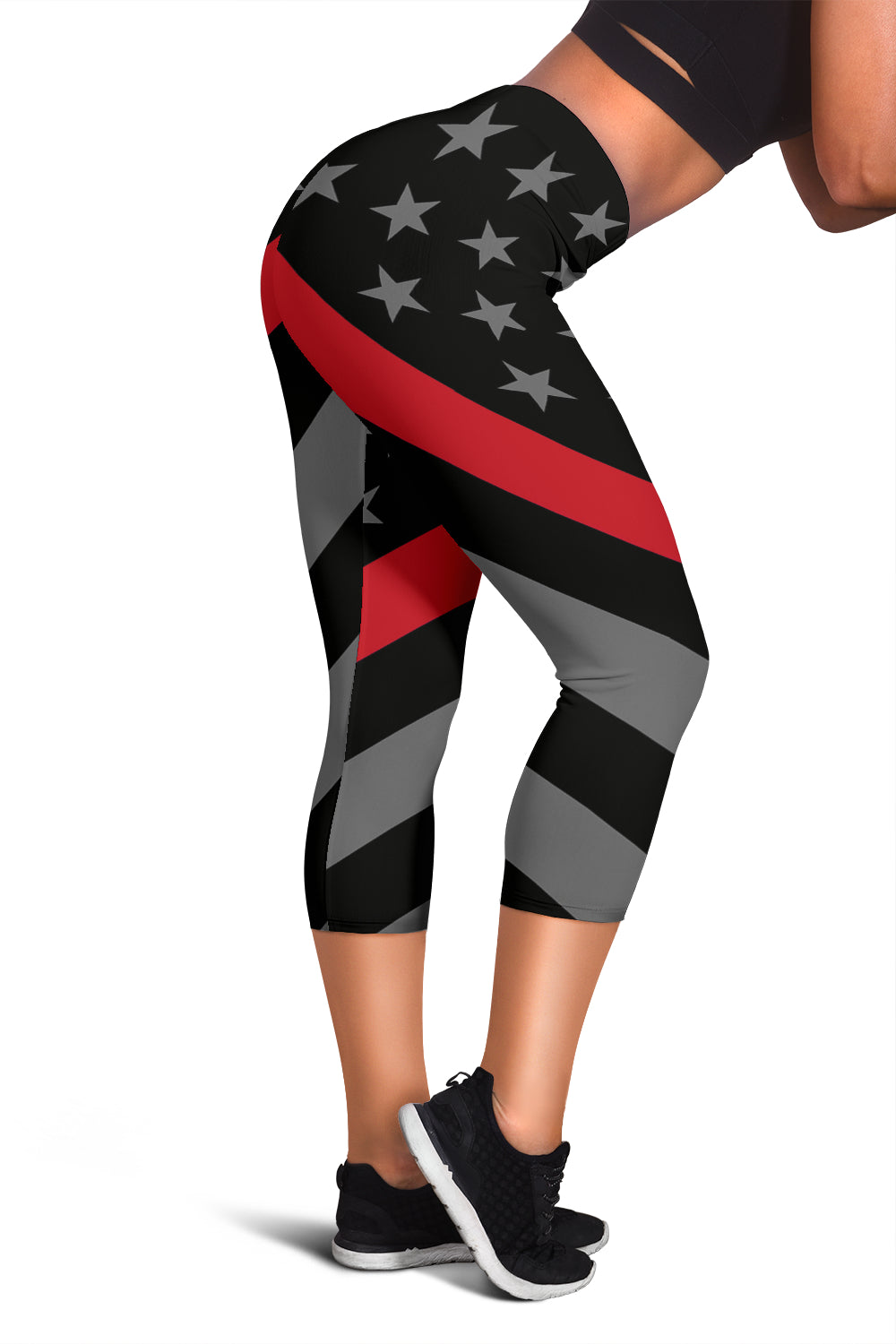 Thin Red Line Capris