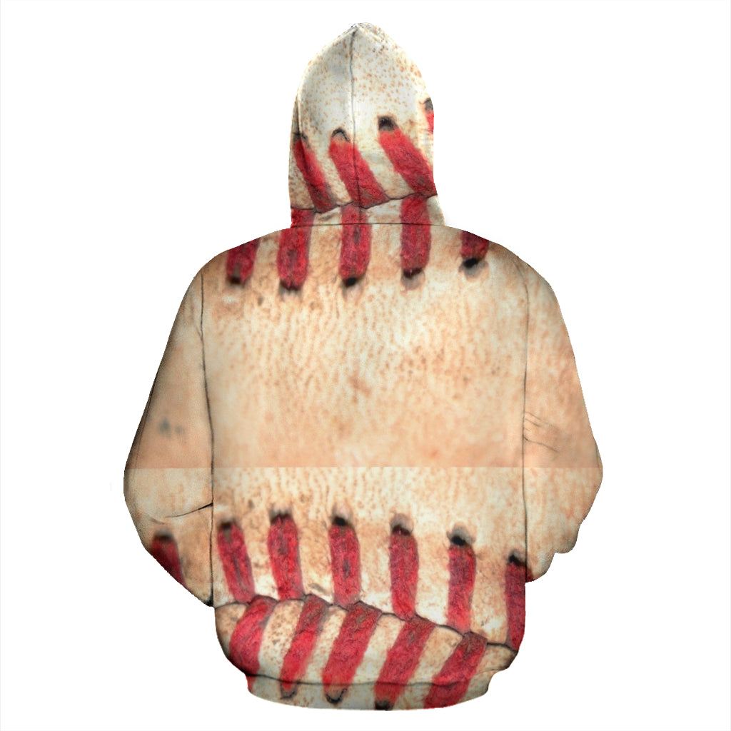 Baseball Stitches Men's Hoodie