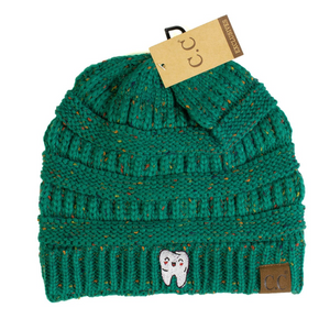 Happy Tooth Flecked CC Beanie