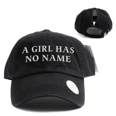 A Girl Has No Name High Ponytail Hat