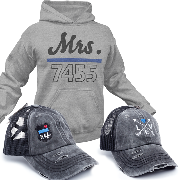 Thin Blue Line Wife Special Bundle