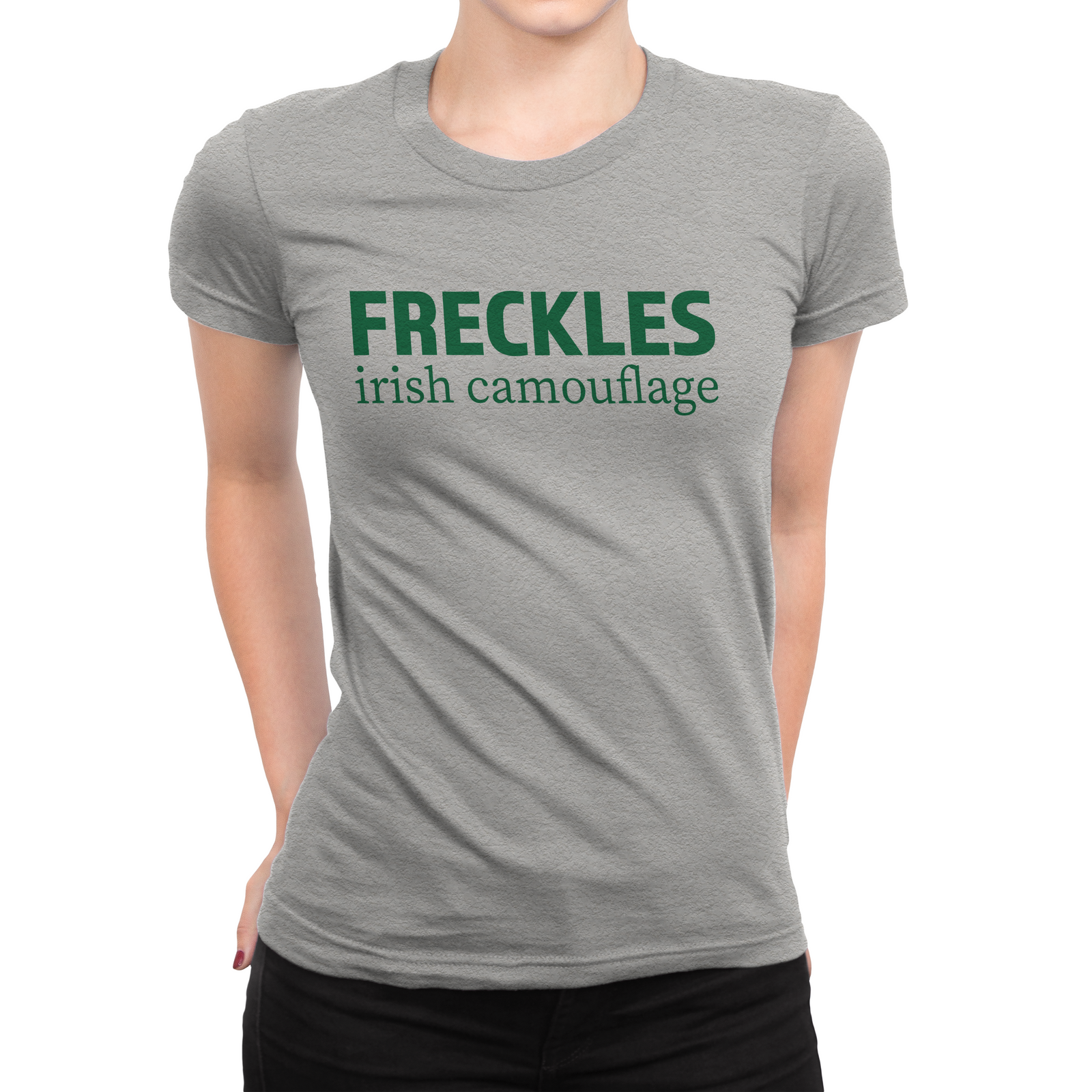 Freckles Irish Camouflage Women's T-shirt
