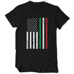 Italy Color American Flag