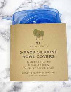 Silicone Bowl Covers 6-Pack