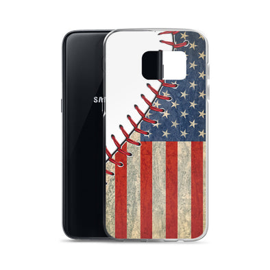 Baseball Flag Samsung Case