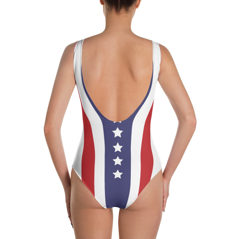 Stars n Stripes One-Piece Swimsuit