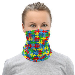 Autism Awareness Neck Gaiter