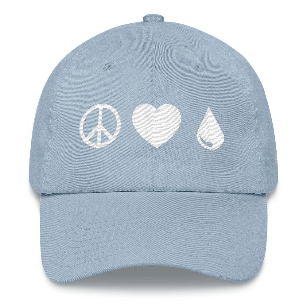 Peace Love Oils Hat