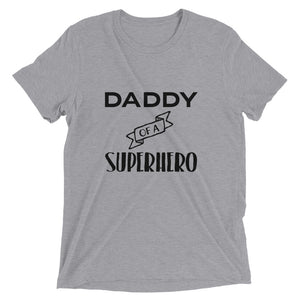 Daddy Of A Superhero Tee