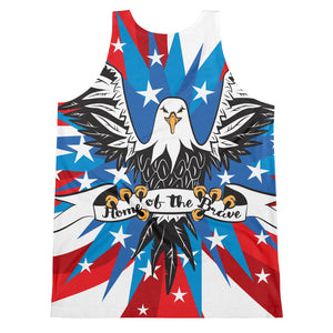 Home of The Brave Unisex Tank Top