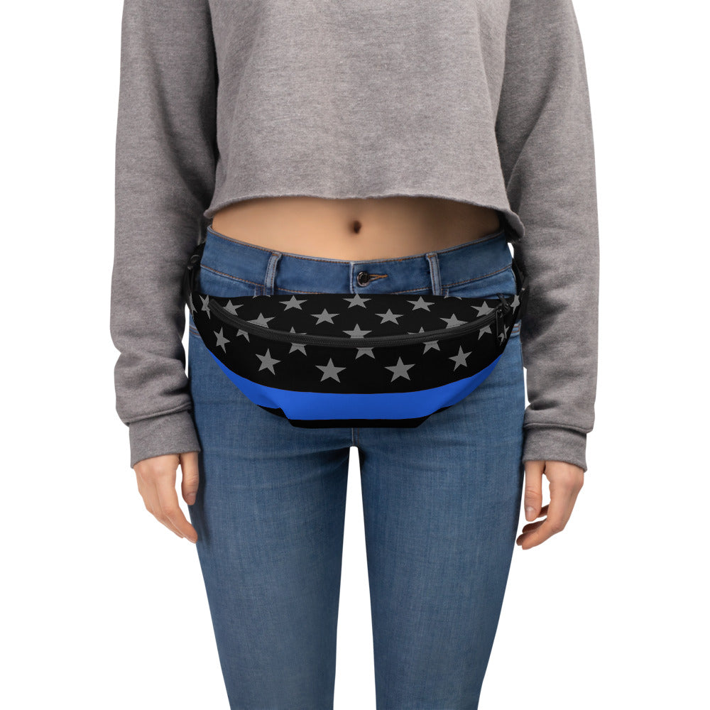 Law Enforcement Thin BLue Line Fanny Pack