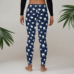 Teeth Pattern Leggings