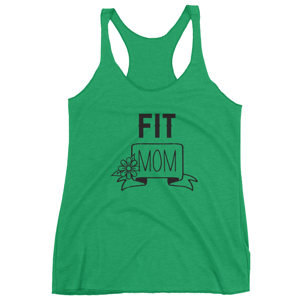 Fit Mom Racerback Tank