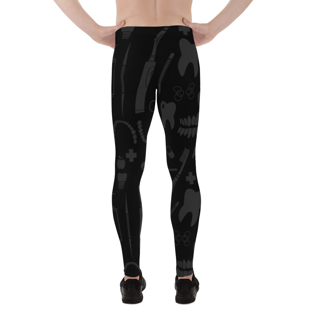 Dental Pattern Men's Leggings