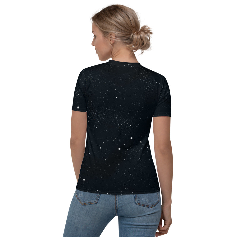 Moon Phases Women's V-neck