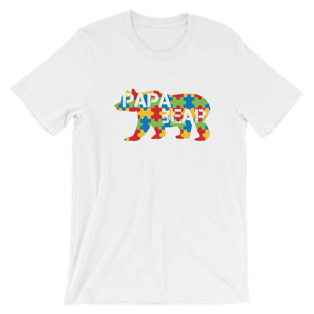 4b36f8ff Autism Papa Bear Tee – Shop With Cre