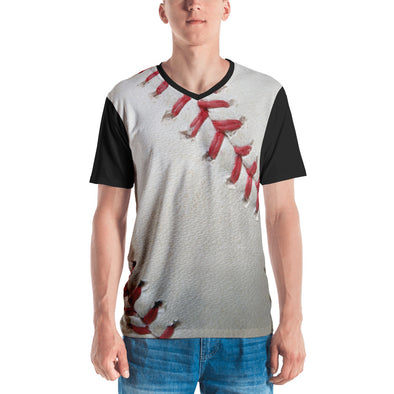 Baseball Men's V-neck T-shirt