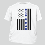 Mom & Dad Thin Blue Line Flag