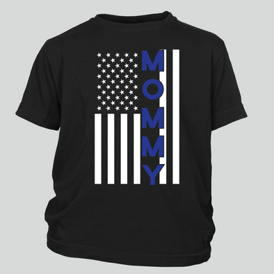 Mommy Thin Blue Line Flag
