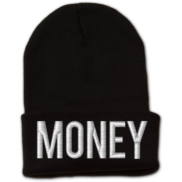 MONEY Beanie With Cuff