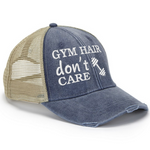 Gym Hair Don't Care Trucker Hat