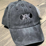 Moon Goddess Pigment Washed Cotton Baseball Cap One Size Adjustable