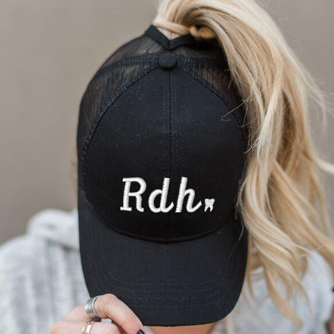 Ponytail Rdh Tooth Hat