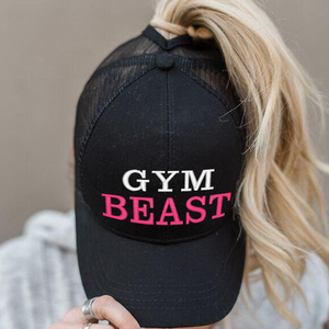 Ponytail Gym Beast Hat