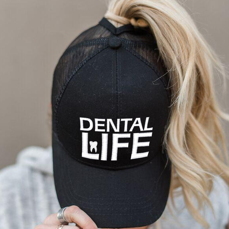 Ponytail Dental Life Hat