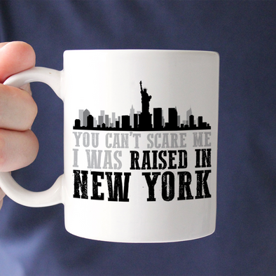 Raised In New York Mug