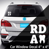 RDA Window Decal